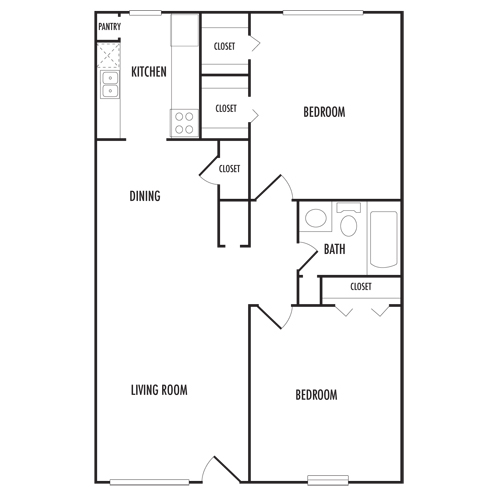 Floor Plans Napoleon Square Apartments